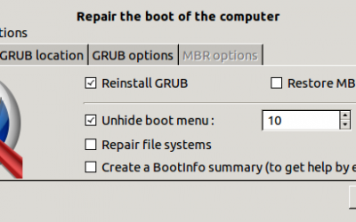 Reinstall / Recover GRUB from Ubuntu live CD / USB