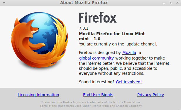 Install Firefox 7 in Linux Mint 11
