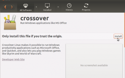 How to install CrossOver in Ubuntu 13.04 12.10 12.04