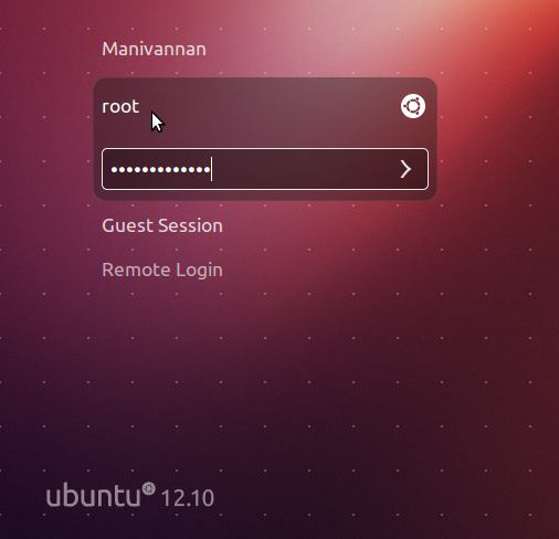 How to enable root login in ubuntu 13.10 / 13.04 12.10 12.04