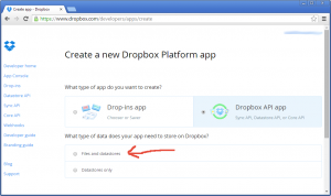 linux backup to dropbox