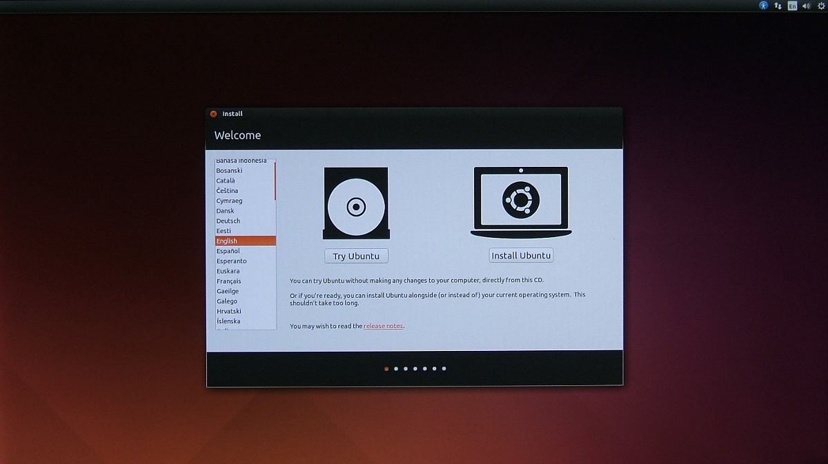 how to install ubuntu from usb memory stick