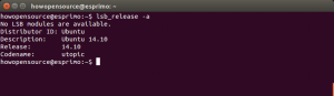 Ubuntu Version Command