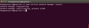 Restart Network In Ubuntu Server