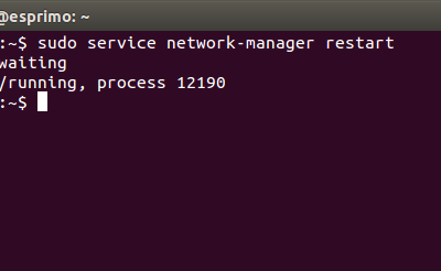 How to Restart Network in Ubuntu