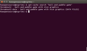 Ubuntu apt-cache search packages with keyword