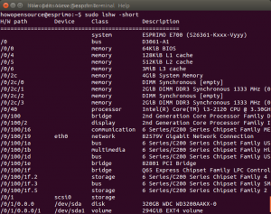 Find Hardware Info on Ubuntu Linux