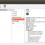 Show Hardware Info on Ubuntu Linux