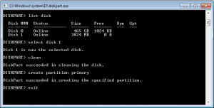 USB Free Space Command Line Tool
