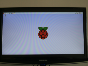 Raspberry GUI Default Desktop
