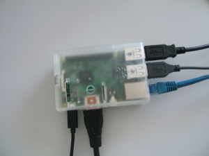 Raspberry PI Fully Attached and Running