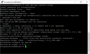 Ubuntu Ccrypt Linux Command Line Tool to Encrypt Files and Data